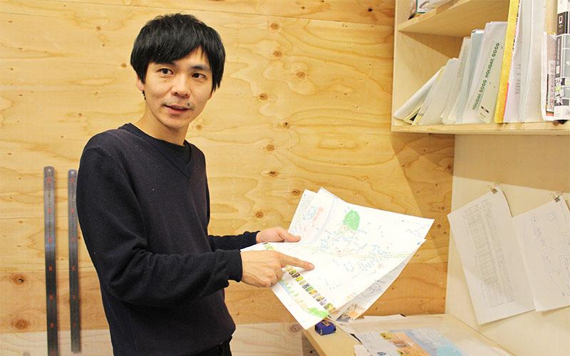 クリエイティブディレクター/建築家 熊田康友(くまだ・やすとも)さん